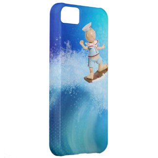 Cute Surfing Sailor Cover For iPhone 5C