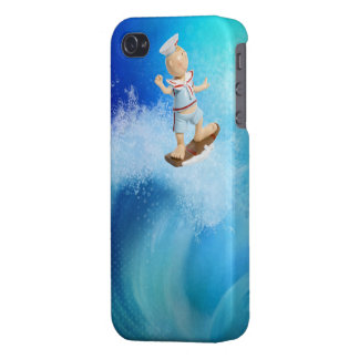 Cute Surfing Sailor iPhone 4/4S Cases