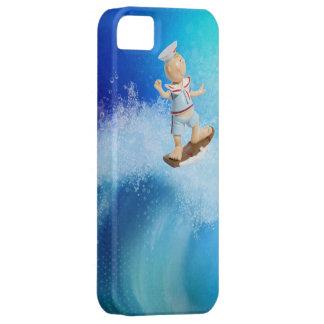 Cute Surfing Sailor iPhone 5 Case