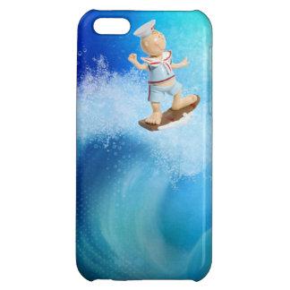 Cute Surfing Sailor iPhone 5C Case