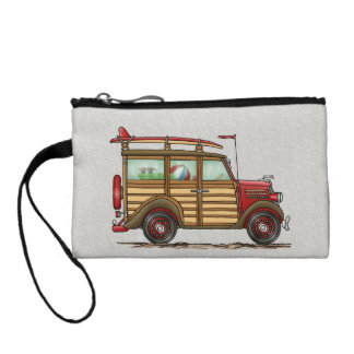 Cute Surfing Woody Coin Purse
