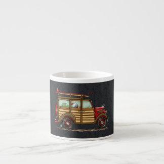 Cute Surfing Woody Espresso Cup