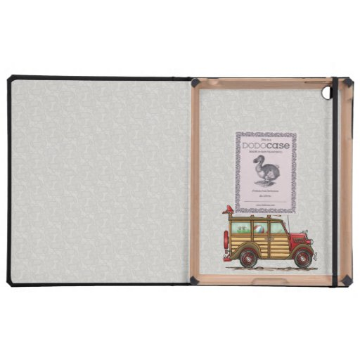 Cute Surfing Woody iPad Cases