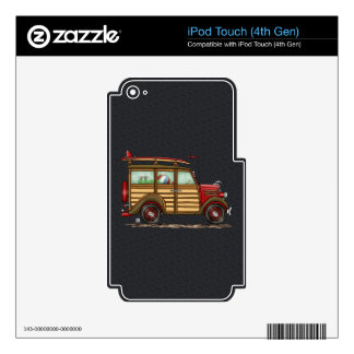 Cute Surfing Woody iPod Touch 4G Skins