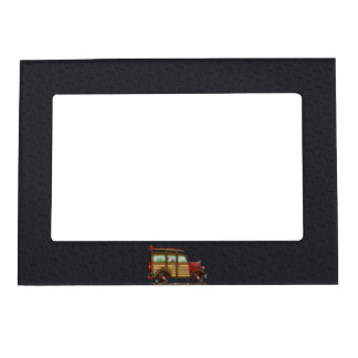 Cute Surfing Woody Magnetic Frame