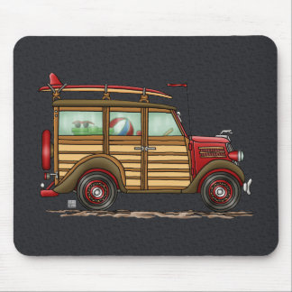 Cute Surfing Woody Mouse Pad