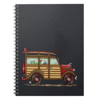 Cute Surfing Woody Notebook
