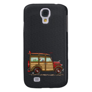 Cute Surfing Woody Samsung Galaxy S4 Cover