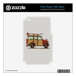 Cute Surfing Woody Skins For iPod Touch 4G