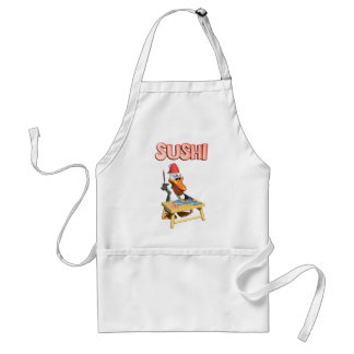Cute Sushi Apron - Perfect for Restaurants