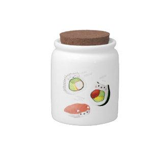Cute Sushi Cat Candy Dish