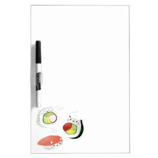 Cute Sushi Cat Dry Erase Whiteboards