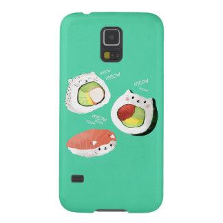 Cute Sushi Cat Galaxy S5 Case