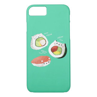 Cute Sushi Cat iPhone 8/7 Case