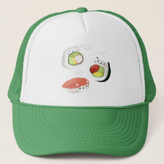 Cute Sushi Cat Trucker Hat