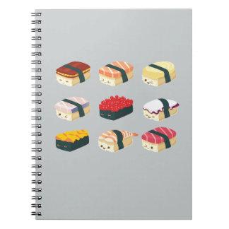 Cute Sushi Notebook