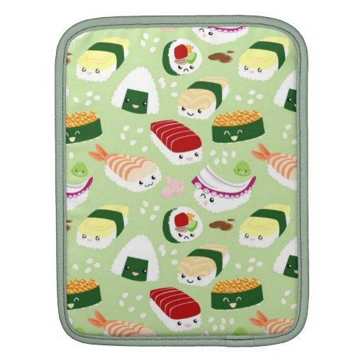 Cute Sushi Pattern iPad sleeve