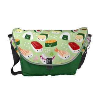 Cute Sushi Pattern Messenger Bag