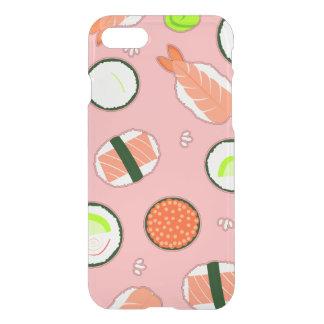Cute Sushi Pattern Pink iPhone 7 Case