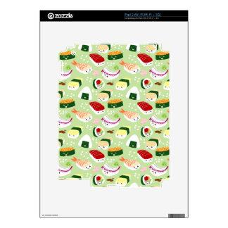 Cute Sushi Pattern Skin Skin For The iPad 2