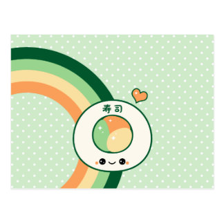 Cute Sushi Post Cards
