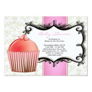 CUTE Sweet Baby Girl Pink Shower Card