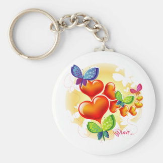 Cute Sweet Colorfull Summer Love Friendship Keychain