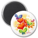 Cute Sweet Colorfull Summer Love Friendship Refrigerator Magnet
