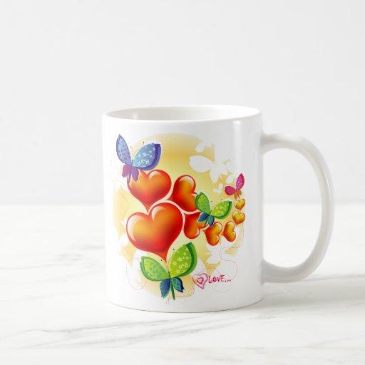 Cute Sweet Colorfull Summer Love Friendship Coffee Mug