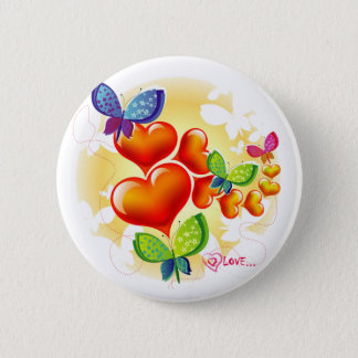 Cute Sweet Colorfull Summer Love Friendship Pinback Button