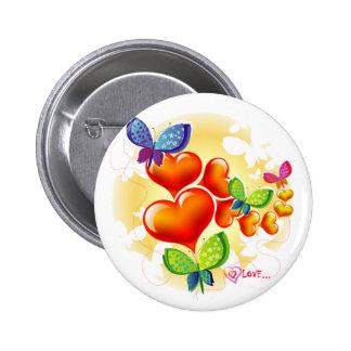 Cute Sweet Colorfull Summer Love Friendship Pinback Button