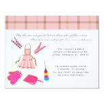 """CUTE Sweet House Warming Party Invite 4.25"""" X 5.5"""" Invitation Card"""