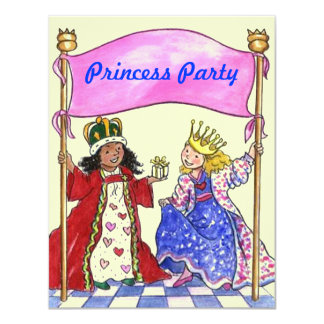"Cute Sweet Invitations To Host A ""PRINCESS PARTY"""