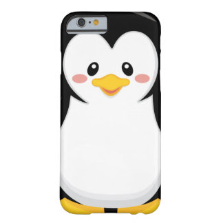 cute sweet little penguin cartoon barely there iPhone 6 case