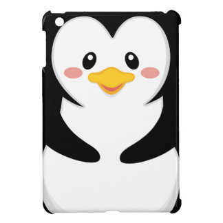 cute sweet little penguin cartoon iPad mini case