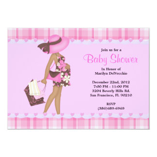 CUTE Sweet PINK Baby Shower Invite