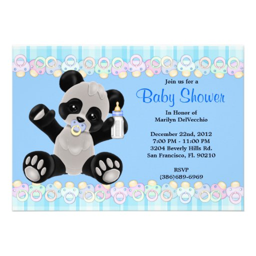 Bear Baby Shower Invitations can inspire you to create best invitation template