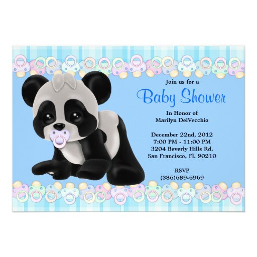 panda bear baby shower panda bear baby shower