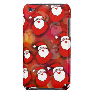 Cute, sweet Santa Claus with gifts. Christmas Red. iPod Touch Cover