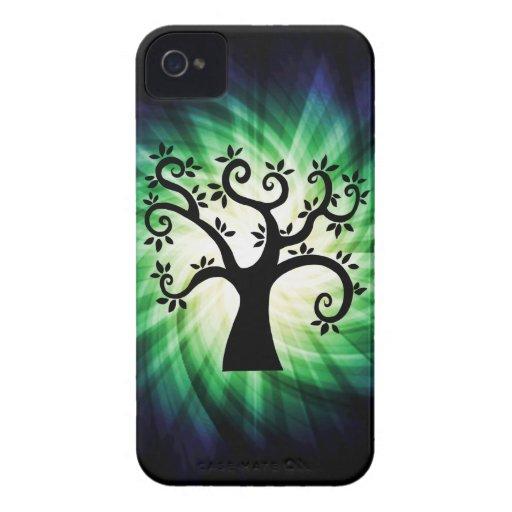 Cute Swirly Tree Blackberry Bold Covers