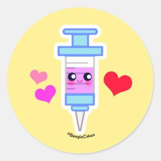 Cute Syringe Sticker