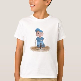 Cute T-Ball Player Kid's T-Shirt