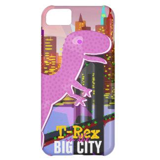 Cute T-Rex in the Big City Case For iPhone 5C
