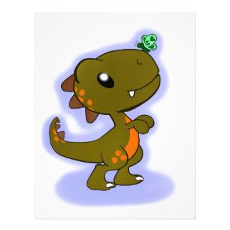 Cute T-Rex Letterhead