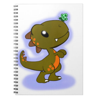 Cute T-Rex Notebook