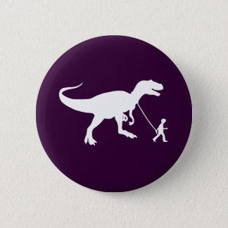 Cute T-rex Pet Button