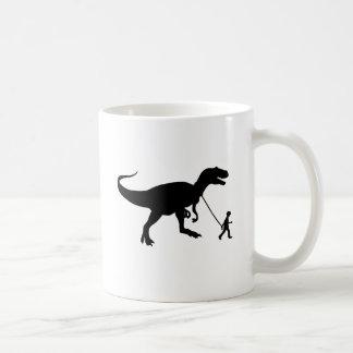 Cute T-rex Pet Classic White Coffee Mug