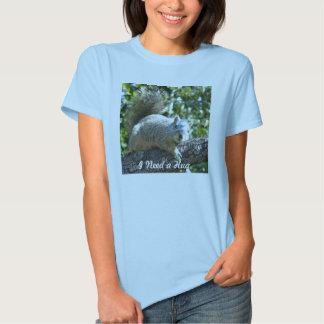 Cute T-Shirt- Squirrel T-shirt
