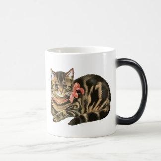Cute Tabby Calico Cat / Kitten Mug