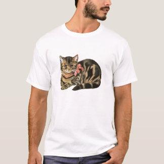 Cute Tabby Calico Cat / Kitten T-Shirt
